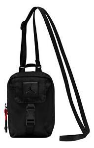 Nike Unisex Air Jordan Anti-Gravity Pouch Crossbody Bag (Black/Red) 9A0399-023
