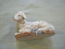 Lrg Sparkly Dicksons Nativity Creche Replacement Piece, Ch-948 Sheep, Lamb