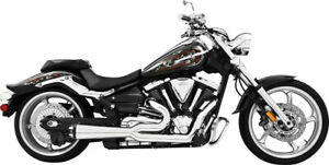 Freedom Combat Series Complete Exhaust System - Chrome with Chrome Tip MK00014
