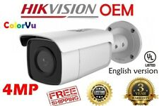 Hikvision(Oem) Ds-2Cd2T47G1-L(Nc344-Xb-L ) 4Mp 24/7 Color Fixed Bullet Ip Cam 4Mm