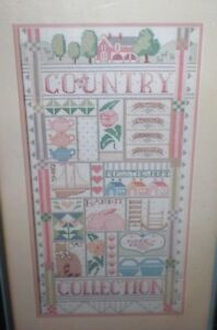 New Nancy Rossi Dimensions COUNTRY COLLECTION SAMPLER Cross Stitch Kit 3602