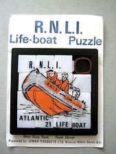 MAGIC SQUARE PUZZLE UNUSED WITH PACKAGING RNLI LIFE BOAT 1963 VINTAGE VERY RARE