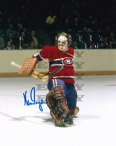 Ken Dryden Montreal Canadiens  8x10 autographed photo Reprint