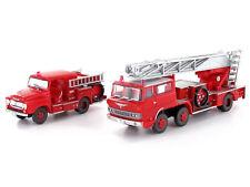 Tomytec 284277 - LKW Set Feuerwehr Leiterwagen und Pumpenwagen - Spur N - NEU