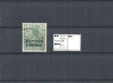 DAP, MAROKKO, 1903 Michelnummer: 8 II o, gestempelt o, Michel-Katalogwert € 15