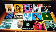 "24 x 12"" VINYL SINGLES 80's ROCK COLLECTION / LOT - VG+"
