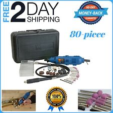 Variable Speed Rotary Multi Tool Kit Grinder Cutter Dremel Set 100 Accessories