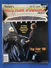 "Tomart's Action Figure Digest #51 1998 Star Wars Toy Fair 14"" Darth Vader NM"