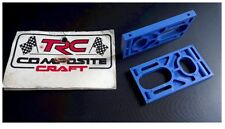 VINTAGE RC Car Composite Craft Blue Rear Axle Mount Old Stock Associated RC12 ?