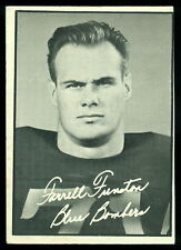 1961 TOPPS CFL FOOTBALL #121 FARRELL FUNSTON EX+ WINNIPEG BLUE BOMBERS Card