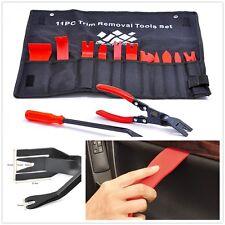 Universal Car 13 Pcs Auto Trim Removal Tool Clip Pliers & Fastener Remover Set