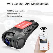 170° WiFi 1080P Hidden Car DVR Camera Video Recorder Dash Cam Night Vision G-Sen
