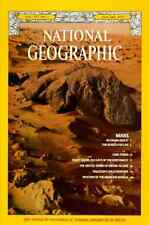 National Geographic JAN 1977 MEDICINE MARS CUBA PUGET SOUND ORCHID Is PAKISTAN