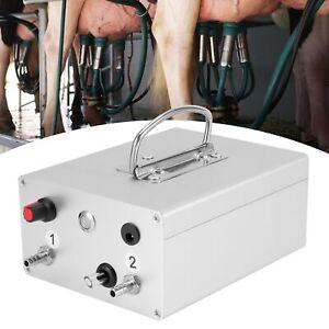 48W Elektrische Vakuumpumpe Pulsator für Melkmaschine Milker Melkeimer Zubehör