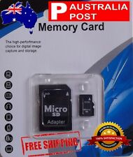 32gb Micro SD memory Card Class10   Free Adaptor. Australian Stock