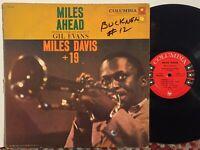 Miles Davis +19 Gil Evans Miles Ahead VG+ 6-EYE MONO DG GORGEOUS!