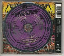 MEMBERS OF MAYDAY We Are Different 3 track CD SINGLE purple  WESTBAM