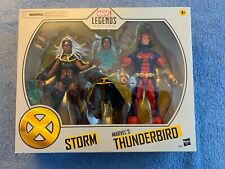 MOC 2020 HASBRO MARVEL LEGENDS TARGET EXCLUSIVE  2-PACK  STORM & THUNDERBIRD