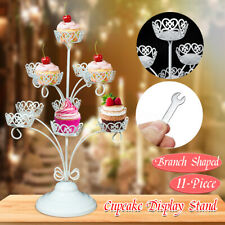 11 Piece Cupcake Stand Metal Wedding Party Birthday Dessert Display Tower Decor