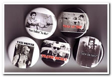 TAXI DRIVER Buttons Pins Badges 5 deniro punk rock scorcese film