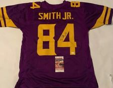 Irv Smith Jr Autographed Minnesota Vikings Jersey JSA Witnessed COA
