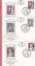 Österreich 1971: FDC  Kunstschätze in Österreich SSt. 1010 Wien