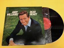 ANDY WILLIAMS Dear Heart (B) LP Vinyl VG+