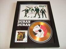 duran duran   SIGNED  GOLD CD  DISC
