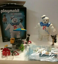 Ghostbusters Platmobil Stay Puft & Stantz + Slimer, Extras Hotdog Vendor *As Is