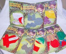 "Mon Chou Chou France MONCHHICHI 8"" Doll Outfit Collection 8-Pieces! MOC`74 RARE!"