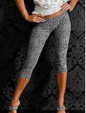 Sexy Capri Leopard Muster Leggings Leggins Treggings Leggin 36 38 S M 11126