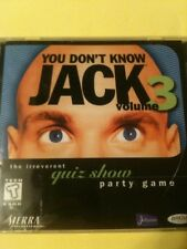You Don't Know Jack! Volume 3  (PC, 1997) Brand New