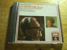 Mahler - Sinfonie 4 [CD Album] EMI Klemperer Schwarzkopf
