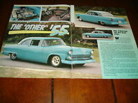 1955 FORD HOT ROD  ***ORIGINAL 1990 ARTICLE***