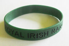 ROYAL IRISH RANGERS SILICONE WRISTBAND
