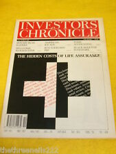 INVESTORS CHRONICLE - LIFE ASSURANCE - MARCH 6 1992