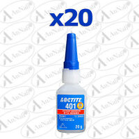 Loctite 401 20g (25ml) Instant Adhesive, Industrial Strength 40124 x 20