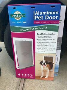 Petsafe X-Large Freedom Aluminum Pet Door Dog Frame 13-3/4 in. x 23-3/4 in. New