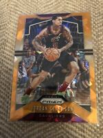2019-20 Panini Prizm Orange Cracked Ice #69 Jordan Clarkson Cleveland Cavaliers