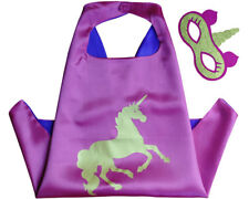 Pink Unicorn Superhero Cape & Mask