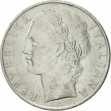 [#542990] Coin, Italy, 100 Lire, 1958, Rome, EF(40-45), Stainless Steel, KM:96.1