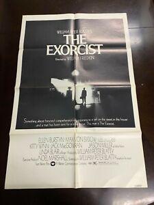 The Exorcist One Sheet 1973 - Rare B&W Version - Original
