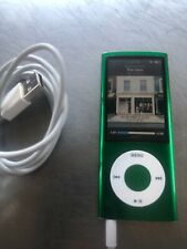 Apple iPod nano 5th Gen Green (8 GB). Replaced Battery. Good condition