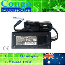 Genuine AC Adaptor Charger For TOSHIBA Satellite P500 P500D P750 P850 P870, 120W