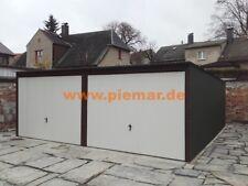 Garage 5x6x2,14m Doppelgarage Mehrzweck  Fertiggarage  Blechgarage in Farbe