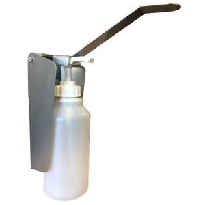 Desinfektionsspender 500ml mit Nachfüllbare Flasche Wandspender Edelstahl No.17