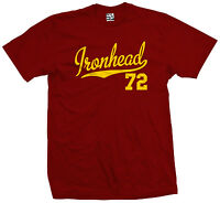 Ironhead 72 Script & Tail T-Shirt - 1972 Motorcycle Bobber Chopper - All Colors