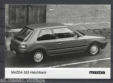 PRESS - FOTO/PHOTO/PICTURE - Mazda 323 Hatchback