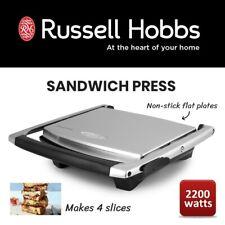 4 Slice Russell Hobbs Sandwich Press Electric Toastie Panini Focaccia Maker