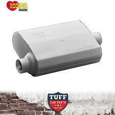 "Hooker 21505 Aero Chamber Muffler 3"" Offset Inlet Center Outlet 21505HKR New"